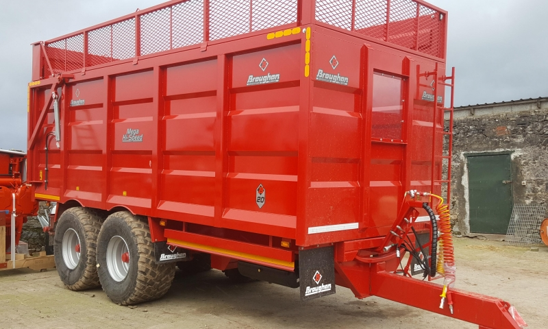 BROUGHAN SILAGE TRAILER