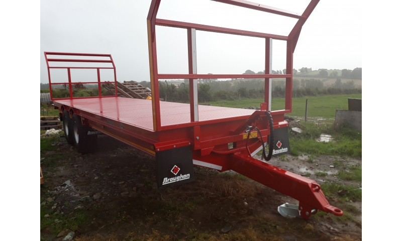 BROUGHAN 34FT BALE TRAILER