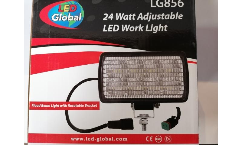 LED ADJUSTABLE WORKLIGHT - 1800Lm